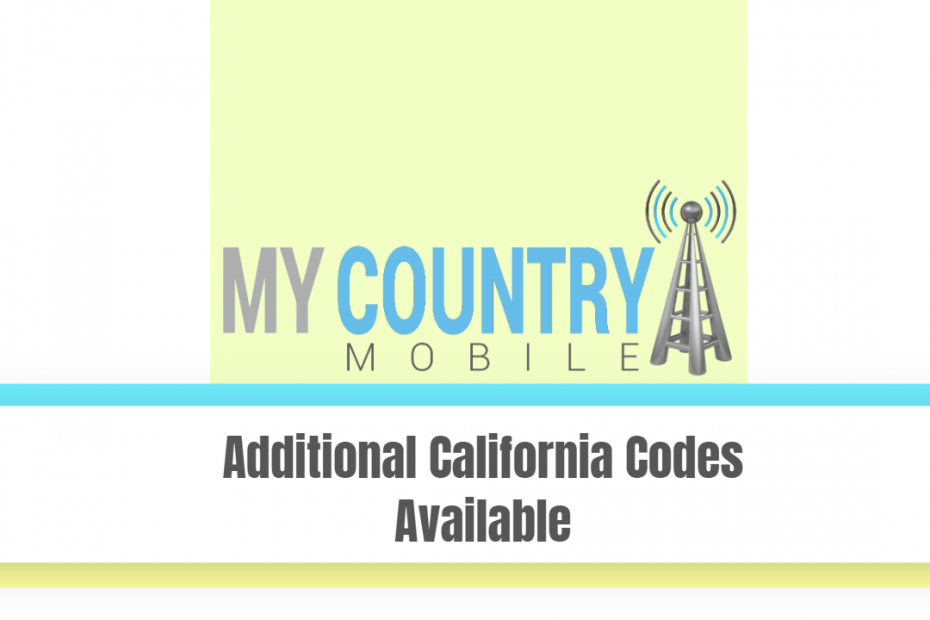 Additional California Codes Available - My Country Mobile